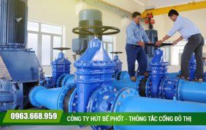 Cách làm sạch đường ống nước