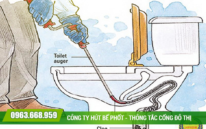 Thông tắc bồn cầu tại quận Hoàn Kiếm