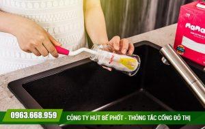 Thông tắc chậu rửa tại quận Hoàng Mai