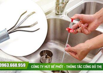 Thông tắc chậu rửa tại quận Thanh Xuân