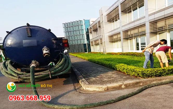 Dịch vụ thay thế lắp đặt bể tự hoại số 1 Hà Nội