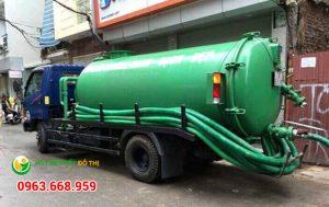 Dịch vụ thông hút bể phốt tại Hà Nội