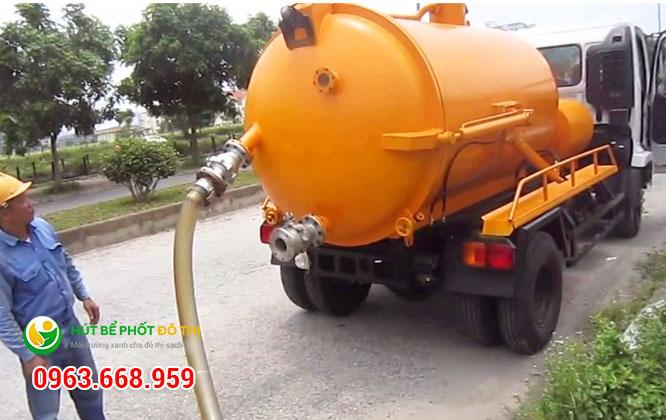 Dịch vụ hút bể phốt tại Đồng Mai hoạt động 24/7